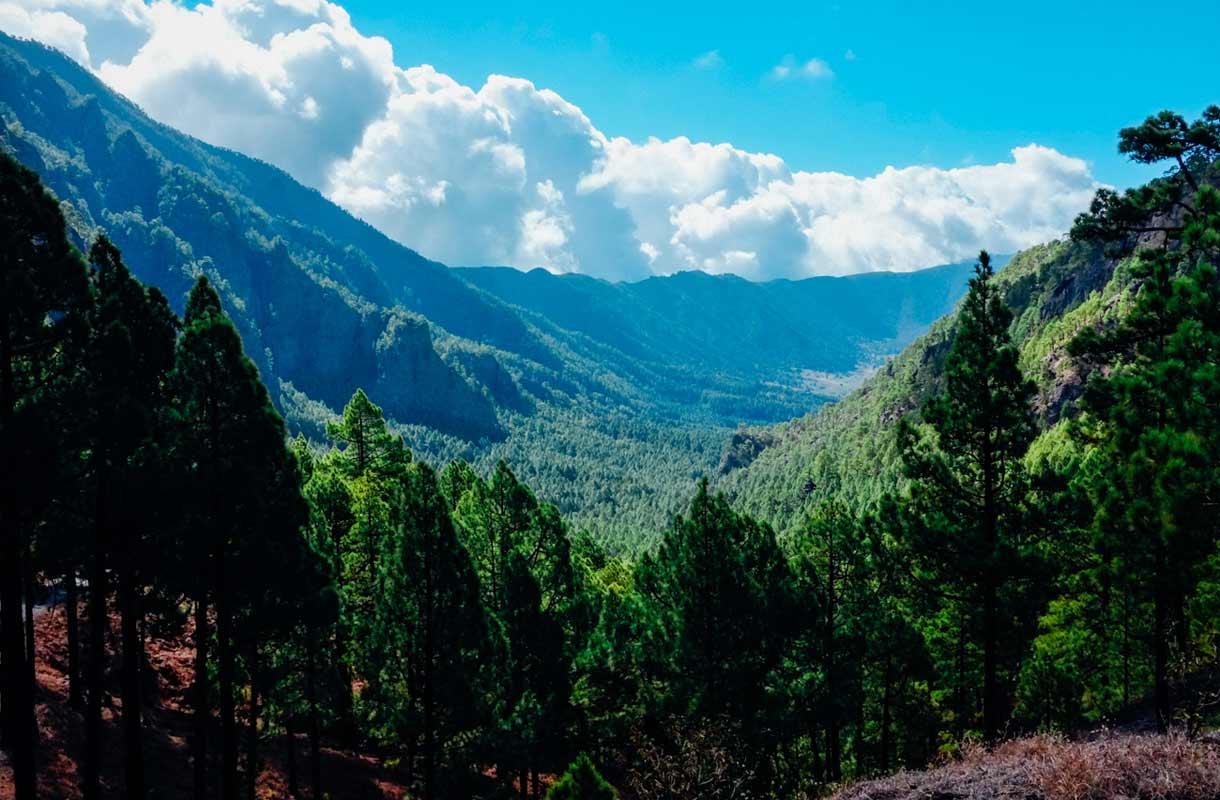 La Palman saari Kanarialla