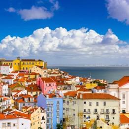 Maisema Lissabonissa