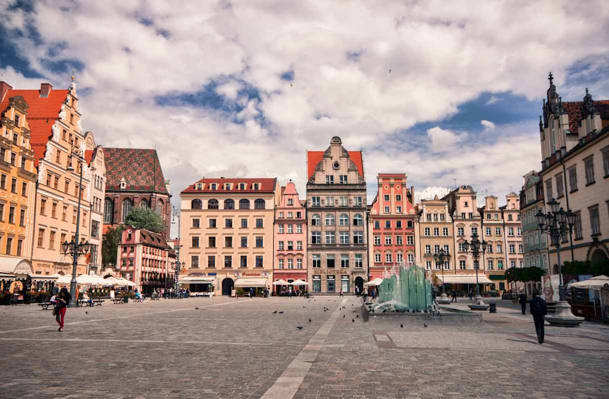 Wroclawin kauppatori