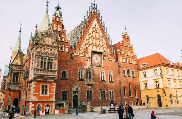 Wroclawin kaupungintalo