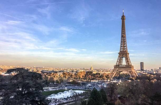 Eiffel-torni Pariisissa