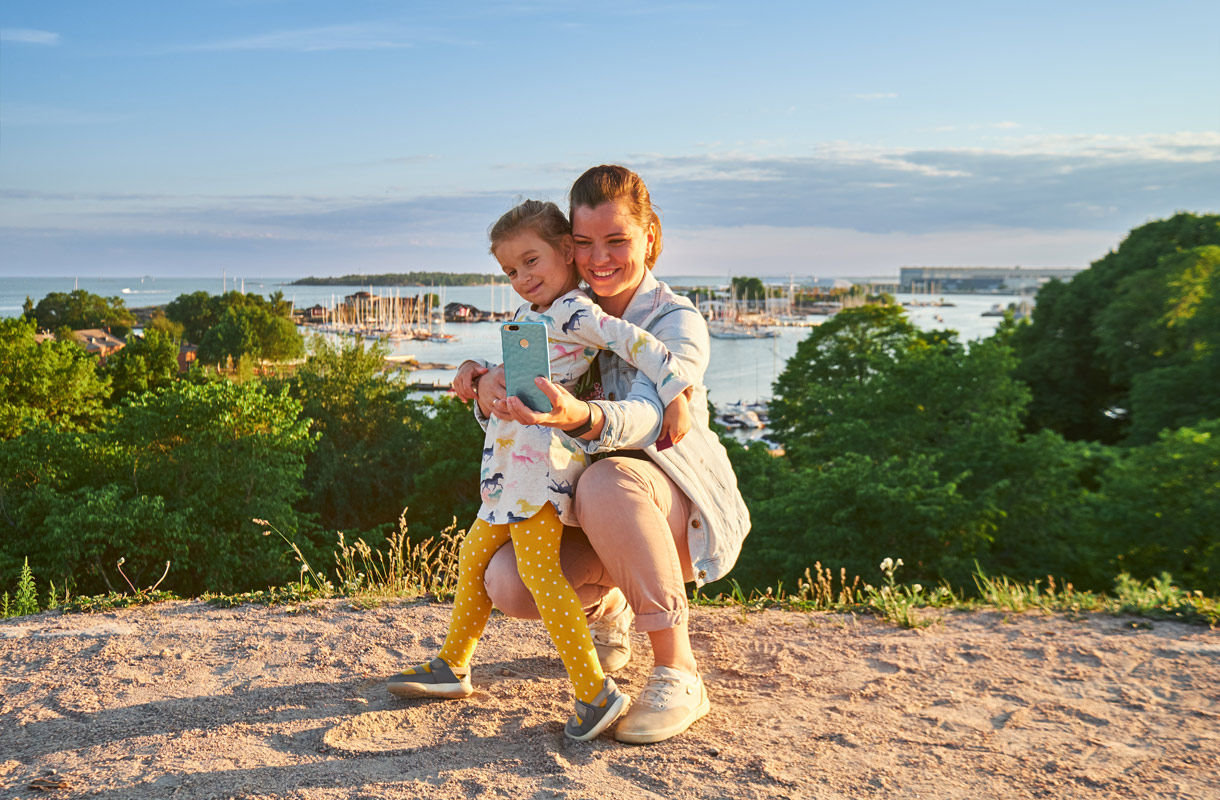 Lapsiperheen vinkit Helsinkiin