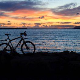 Reykjavikiin voi tutustua hyvin myös pyörän selästä.