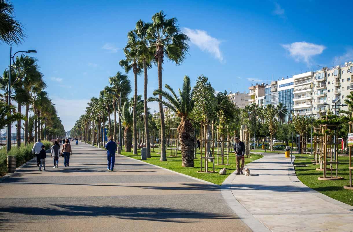 Kymproksen Limassol on suosittu matkakohde.