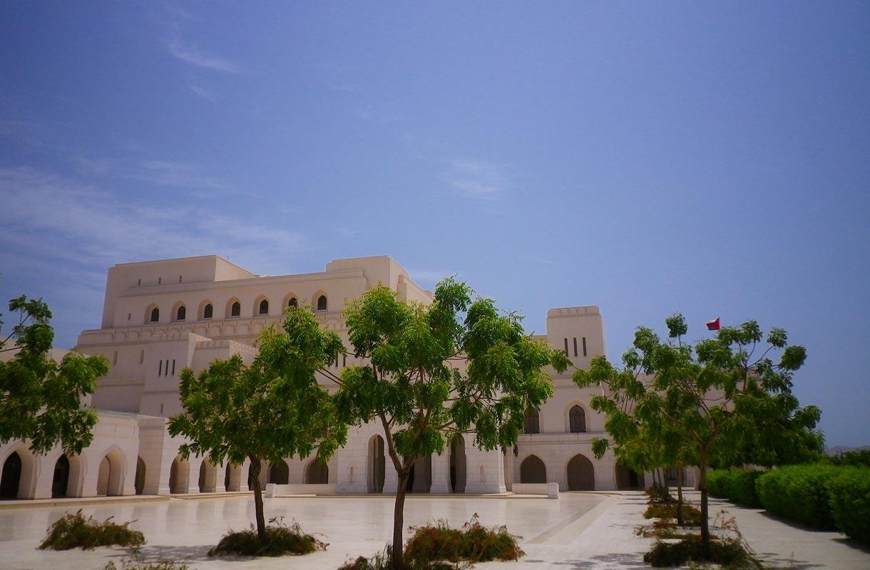 Oman on kiehtova arabivaltio.