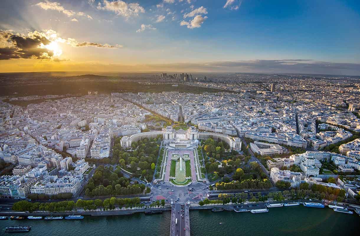 Näkymä Eiffel-tornista