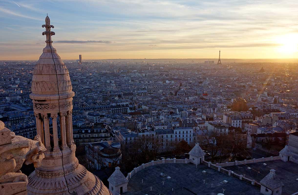 Sacre-Coeurin kirkko Pariisissa