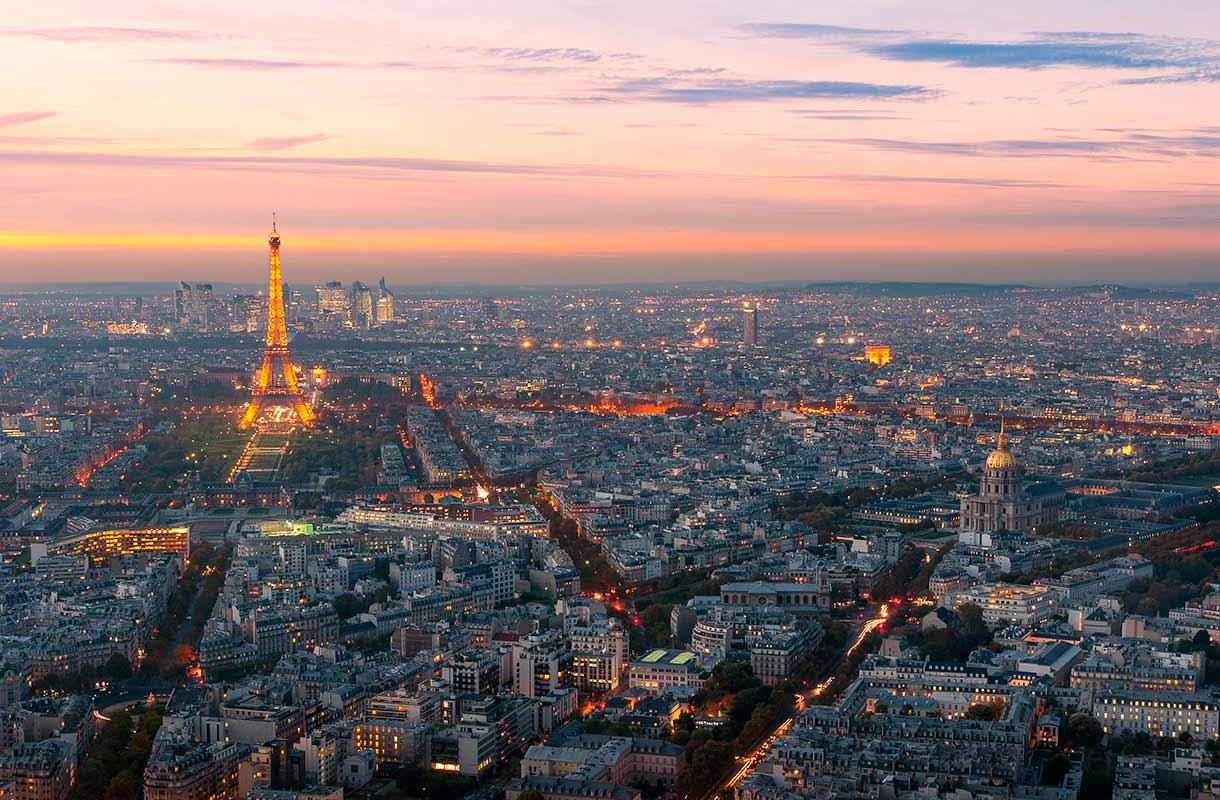 Näkymä Montparnassen tornista