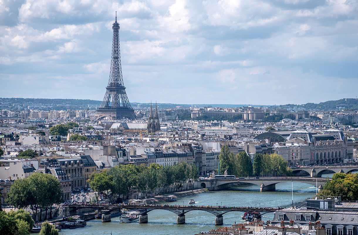 Näkymä Saint-Jacquesin tornista