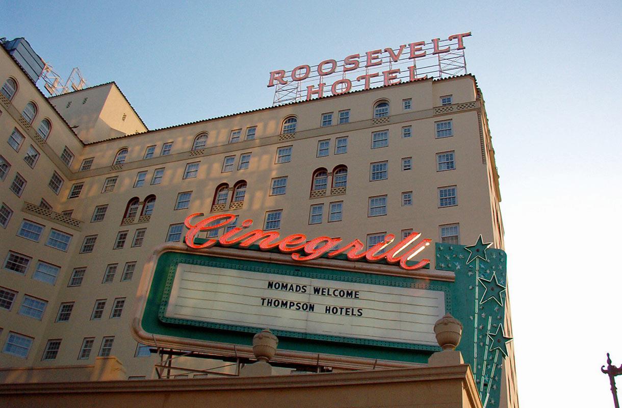 Hollywoodin Roosevelt Hotel