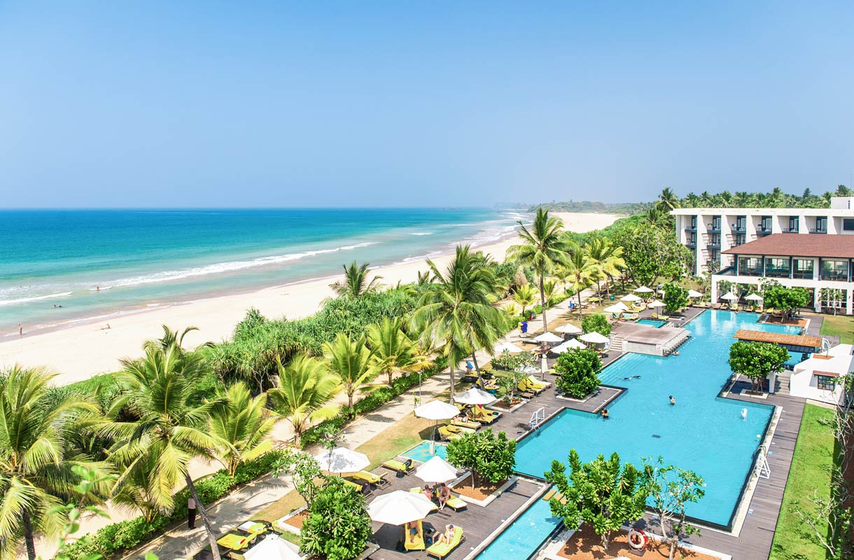 Centara Ceysands Resort -hotelli Sri Lankassa