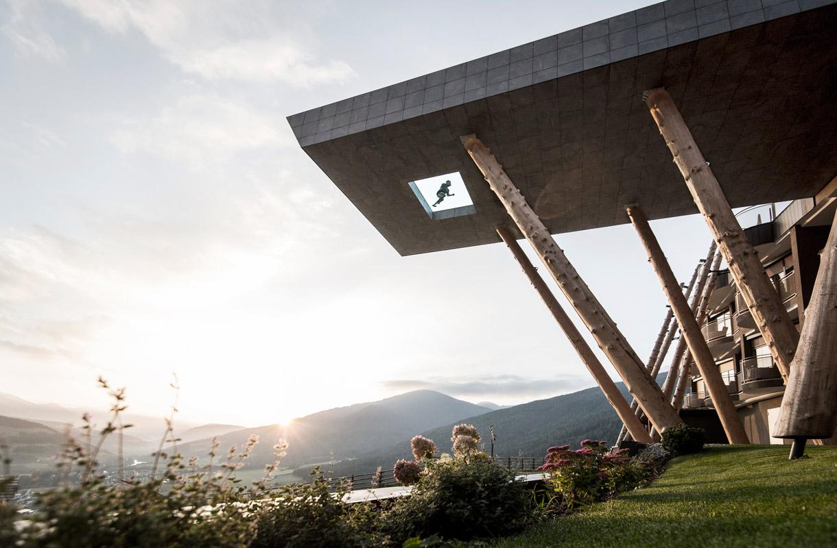 Hotel Hubertus, Dolomiitit