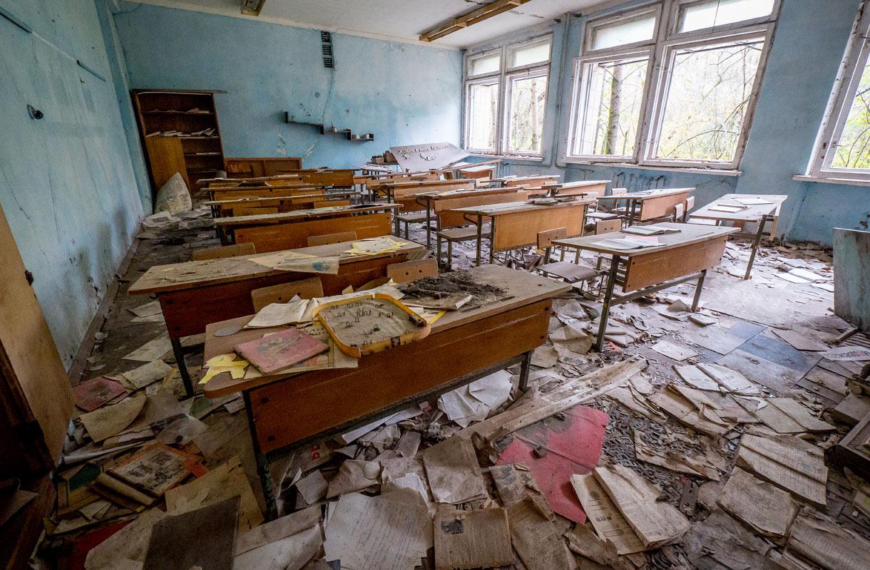 Tšernobyl, Ukraina