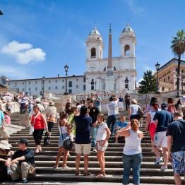 Espanjalaiset portaat Roomassa