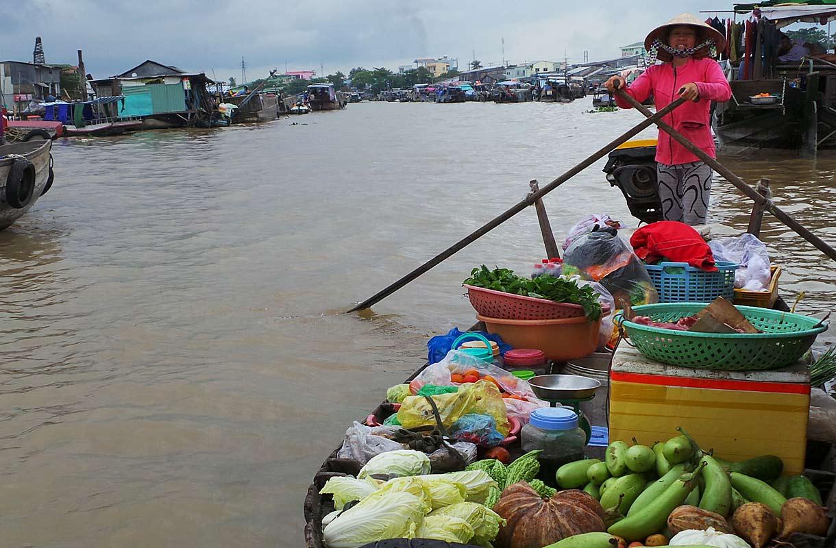 Kelluvat markkinat Vietnamissa