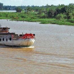 Risteilyalus Mekong-joella
