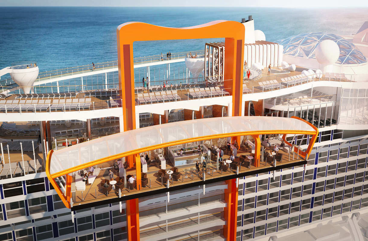 Celebrity Edge -aluksen Magic Carpet