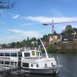 Neckar-joen risteily Heidelbergissä