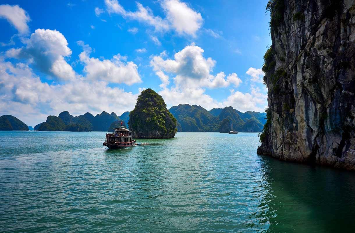 Halonginlahti, Vietnam