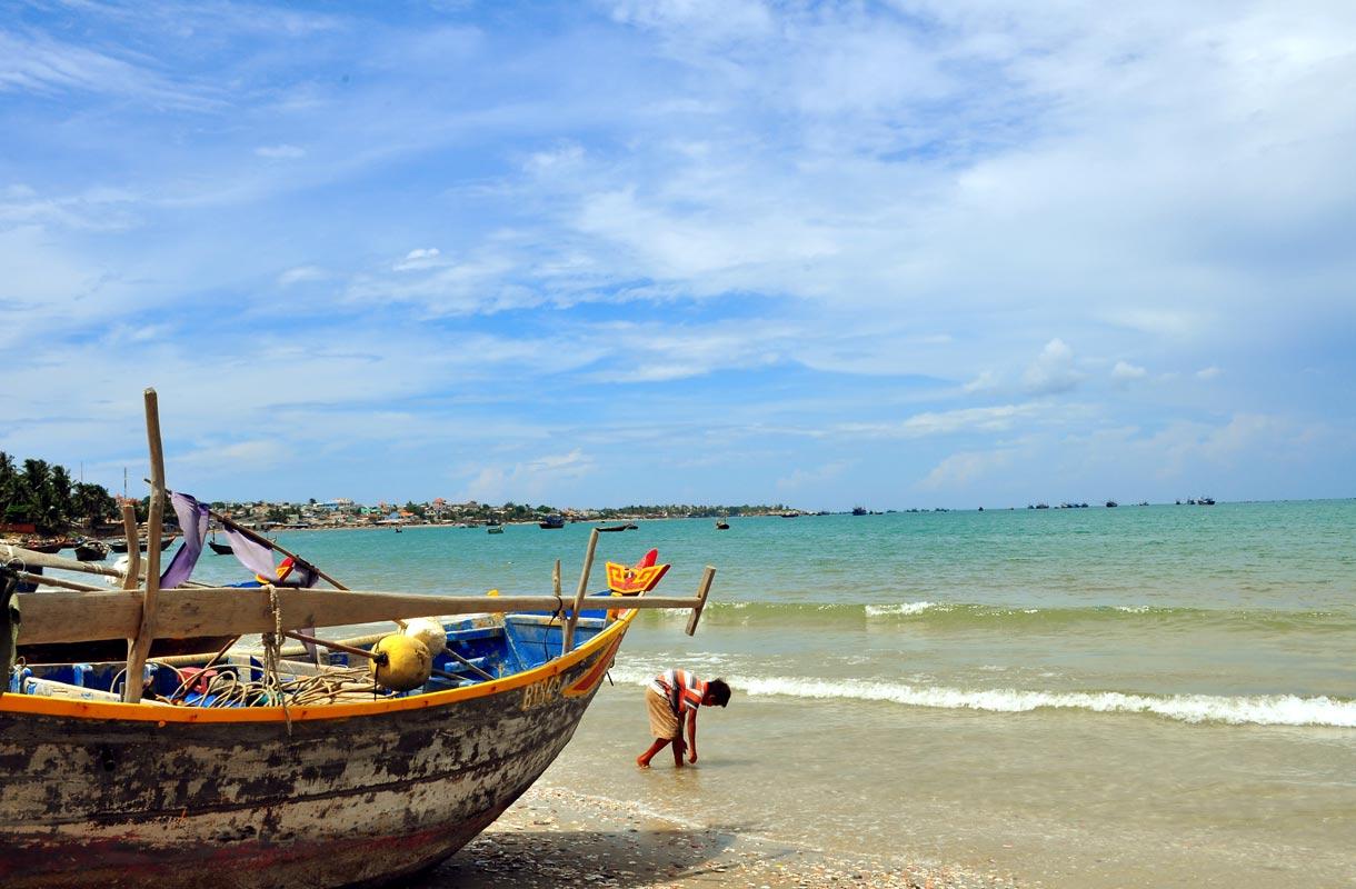 Mui Ne on suosittu rantakohde Vietnamissa