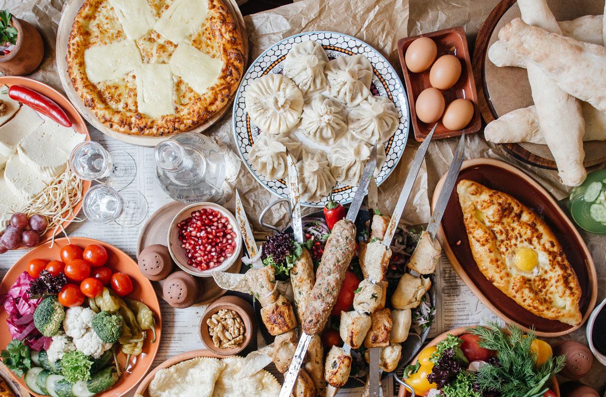 Georgialainen ruoka