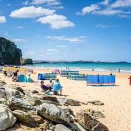 Ison-Britannian kauneimmat rannat