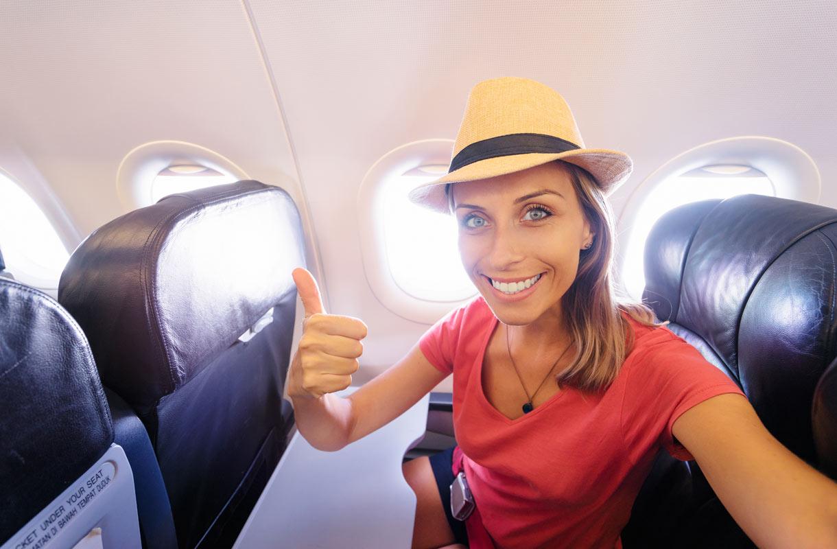 Toinen syy valita lentokoneen ikkunapaikka