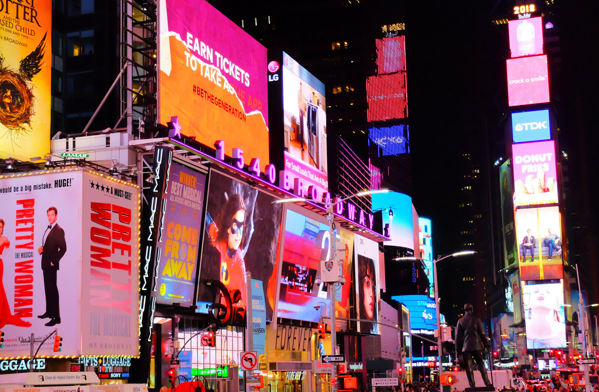 Uusivuosi New Yorkissa