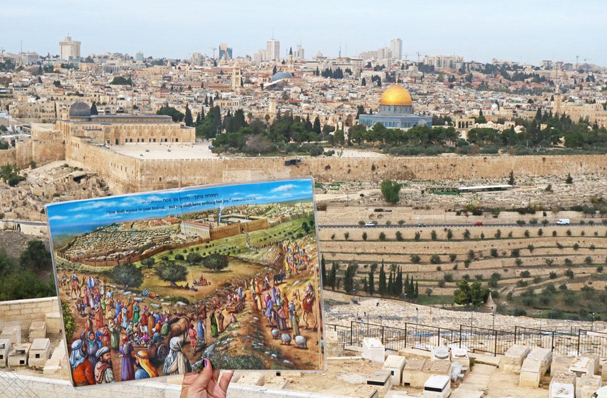 Näkymä Jerusalemiin