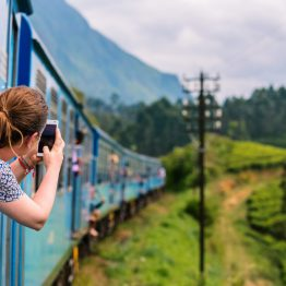 Srilankalainen juna