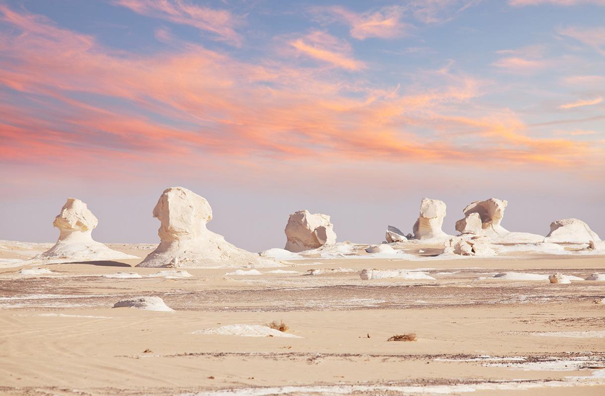 White Desert National Park, Egypti