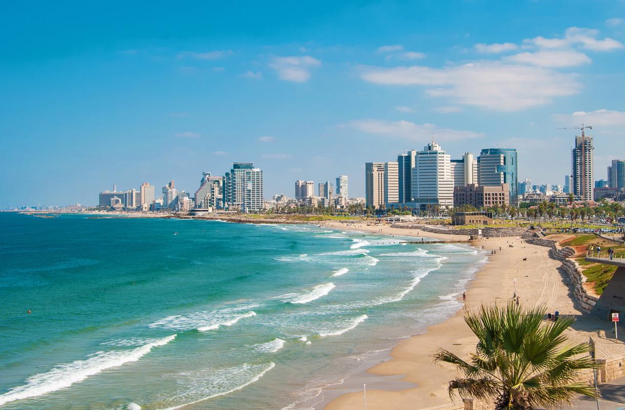 Tel Avivin rantaviiva