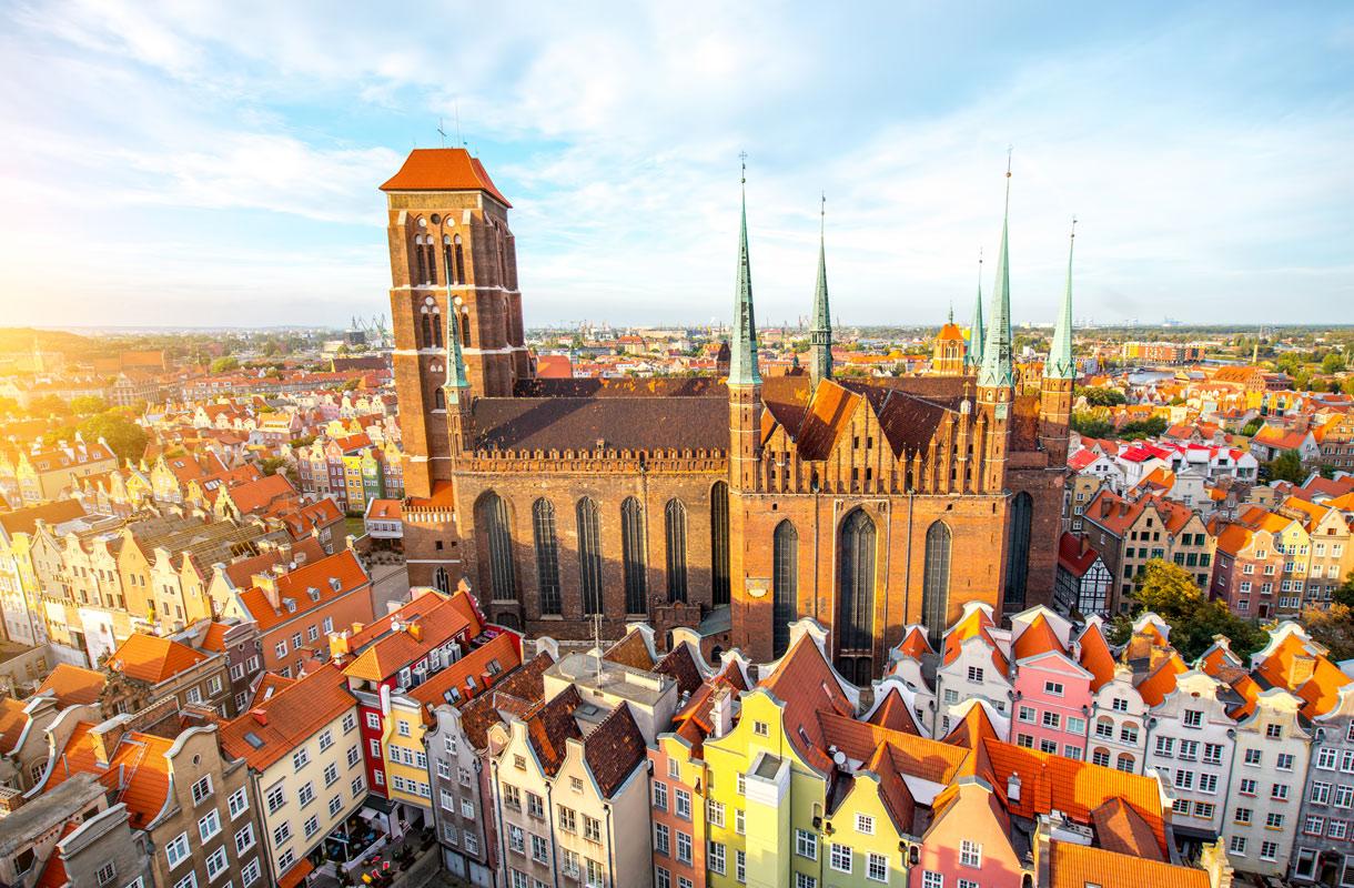 Erikoiset nähtävyydet Puolan Gdanskissa