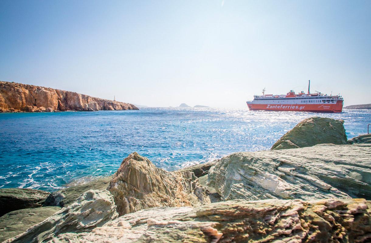Saarihyppely Kreikassa
