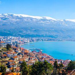 Ohrid-järvi, Makedonia