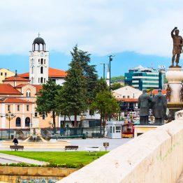 Skopje, Makedonia