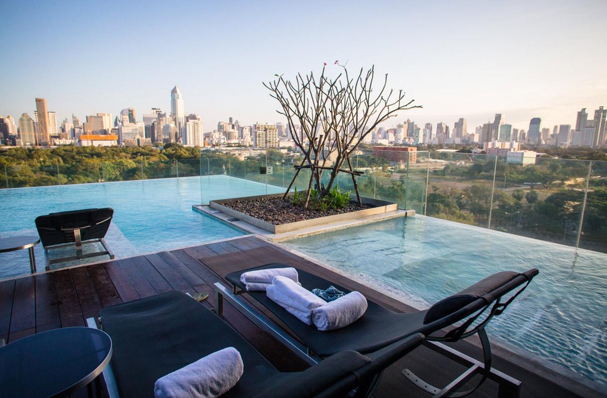 Päiväliput uima-altaalle Bangkokissa