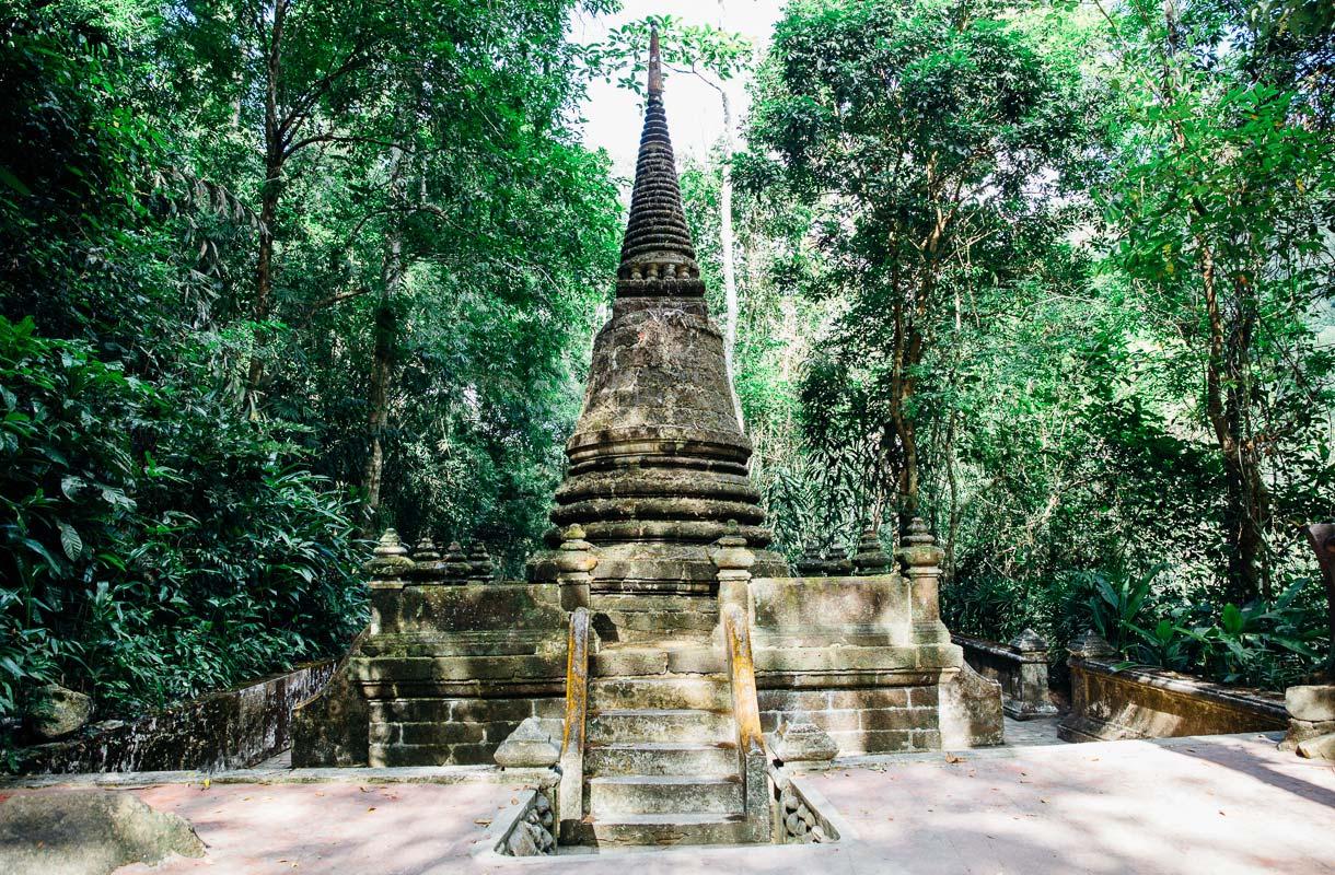 Phlion vesiputous, Thaimaa
