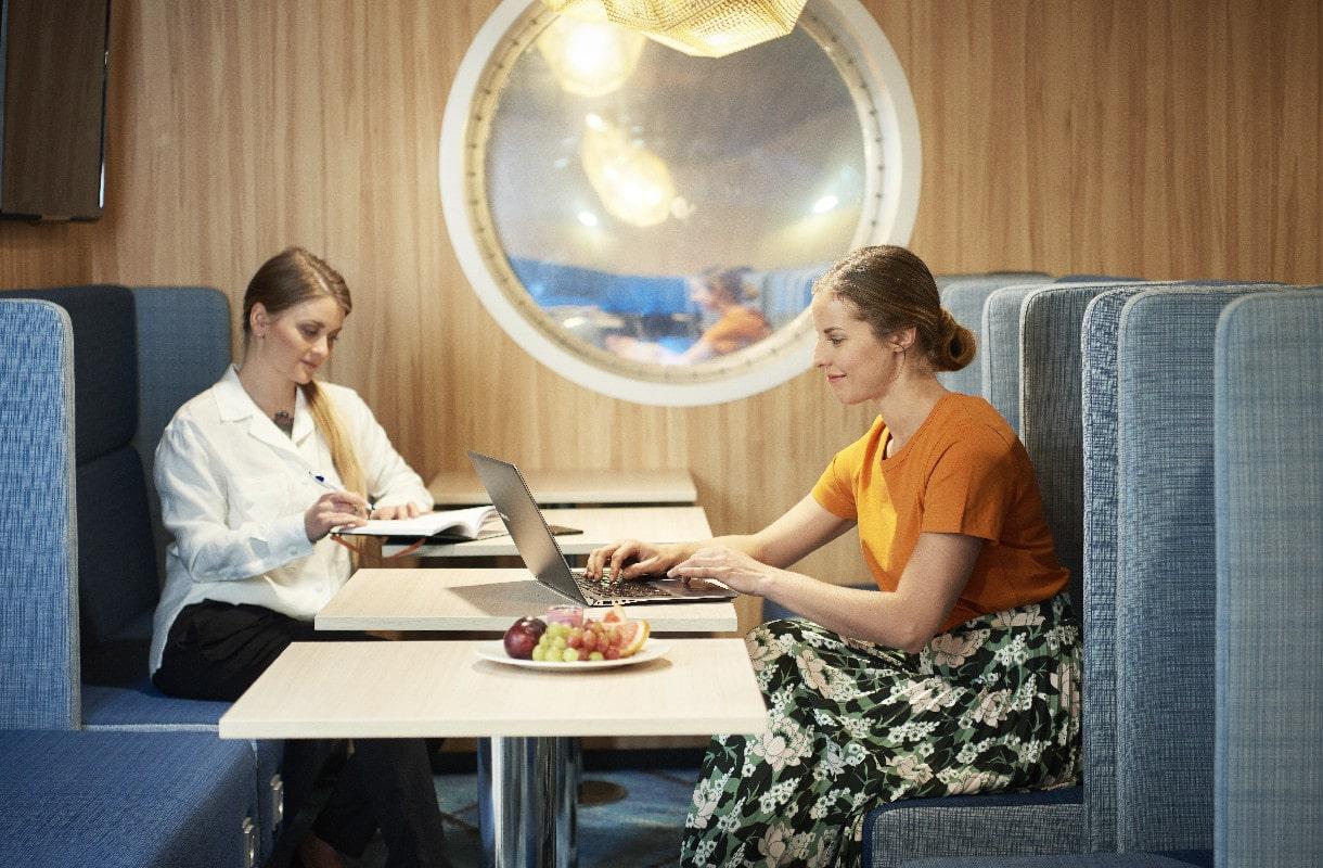 Eckerö Linen lounge