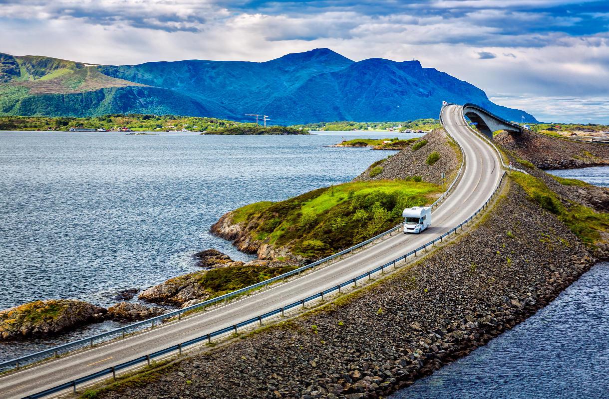 Atlanttitie, Norja