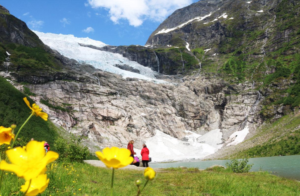 Boyan jäätikkö, Norja