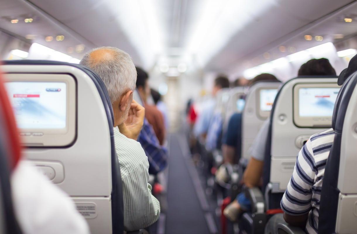 Lentokoneen matkustamon ilma on kuivempaa kuin aavikolla