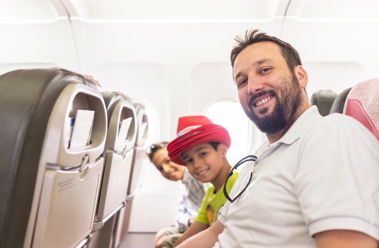Istumapaikan varaaminen lennolla